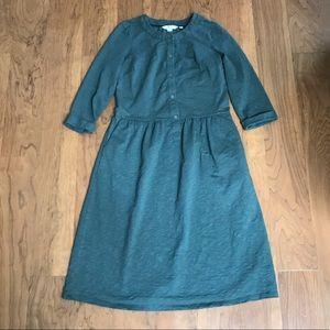 Boden Briar Jersey Dress Green 4L